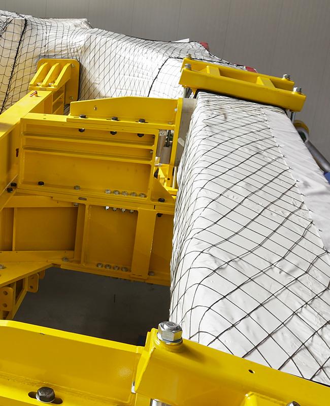 Realizzazione imballaggi industriali con pellicola termoretraibile ad alta resistenza