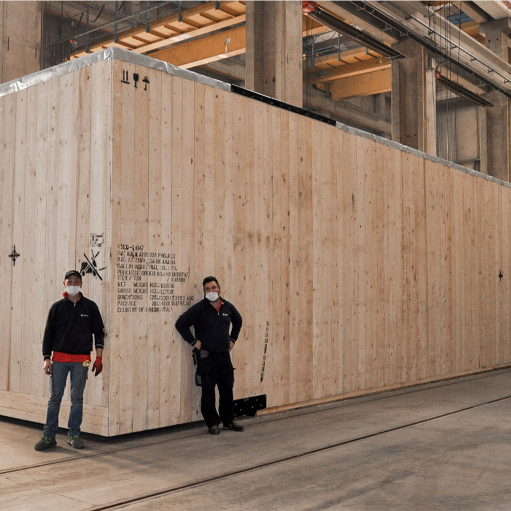 Wooden crate 110t